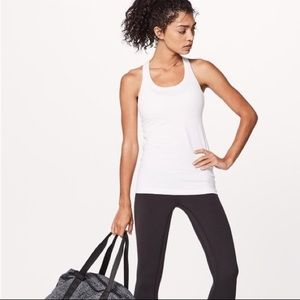 Lululemon Cool Racerback Pima Cotton White 2